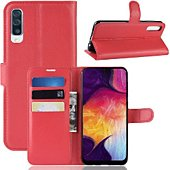 Etui Lapinette Portefeuille Samsung Galaxy A50 Rouge