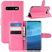 Etui Lapinette Portefeuille Samsung Galaxy S10 Rose