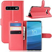 Etui Lapinette Portefeuille Samsung Galaxy S10 Rouge