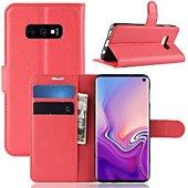 Etui Lapinette Portefeuille Samsung Galaxy S10e Rouge