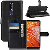 Etui Lapinette Portefeuille Nokia 3.1 Plus Noir