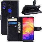 Etui Lapinette Portefeuille Xiaomi Redmi Note 7 Noir