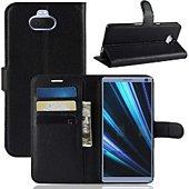 Etui Lapinette Portefeuille Sony Xperia 10 Noir