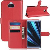 Etui Lapinette Portefeuille Sony Xperia 10 Rouge