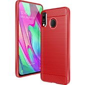 Coque Lapinette Gel Samsung Galaxy A20 Rouge