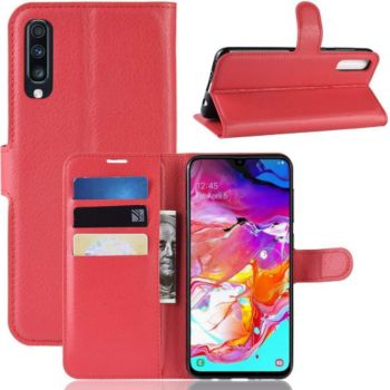 Lapinette Portefeuille Samsung Galaxy A70 Rouge