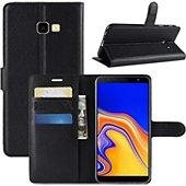 Etui Lapinette Portefeuille Samsung Galaxy J4+ Noir