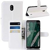 Etui Lapinette Portefeuille Nokia 1 Plus Blanc