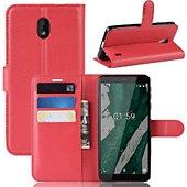 Etui Lapinette Portefeuille Nokia 1 Plus Rouge