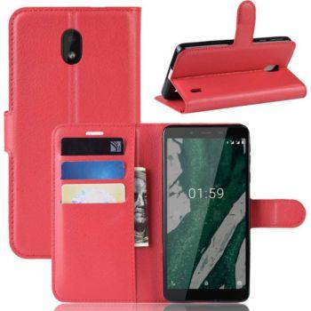 Lapinette Portefeuille Nokia 1 Plus Rouge