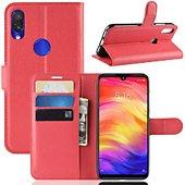 Etui Lapinette Portefeuille Xiaomi Redmi 7 Rouge