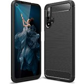 Coque Lapinette Souple en Gel Silicone Honor 20 Carbone
