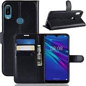 Etui Lapinette Portefeuille Huawei Y6 2019 Noir