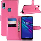 Etui Lapinette Portefeuille Huawei Y6 2019 Rose