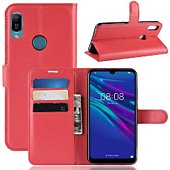 Etui Lapinette Portefeuille Huawei Y6 2019 Rouge