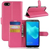 Etui Lapinette Portefeuille Honor 8S Rose