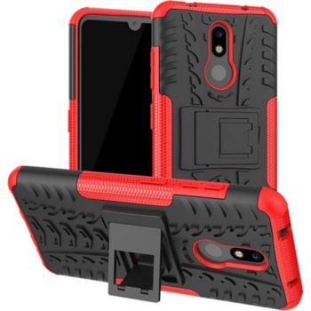 Lapinette Anti Choc Nokia 3.2 Modèle Spider Rouge