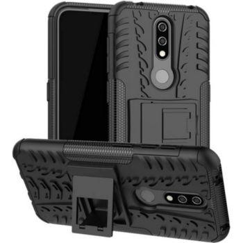 Lapinette Anti Choc Nokia 4.2 Modèle Spider Noir