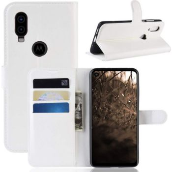 Lapinette Portefeuille Motorola One Vision Blanc