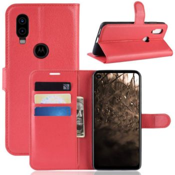 Lapinette Portefeuille Motorola One Vision Rouge