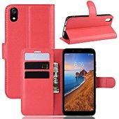 Etui Lapinette Portefeuille Xiaomi Redmi 7A Rouge