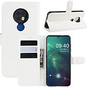 Etui Lapinette Portfeuille Nokia 7.2 Blanc