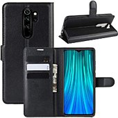 Etui Lapinette Portfeuille Xiaomi Redmi Note 8 Pro Noir