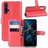 Etui Lapinette Portfeuille Huawei Nova 5T Rouge