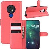 Etui Lapinette Portfeuille Nokia 7.2 Rouge