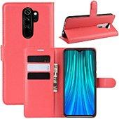 Etui Lapinette Portfeuille Xiaomi Redmi Note 8 Pro Roug