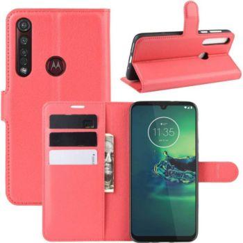 Lapinette Portfeuille Motorola Moto G8 Plus Rouge
