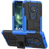 Coque Lapinette Anti Chocs Nokia 6.2 Modèle Spider Bleu
