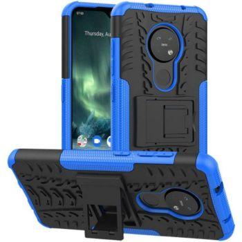 Lapinette Anti Chocs Nokia 7.2 Modèle Spider Bleu