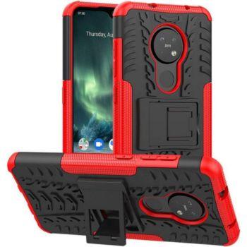 Lapinette Anti Chocs Nokia 7.2 Modèle Spider Roug