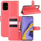 Etui Lapinette Portfeuille Samsung Galaxy A51 Rouge