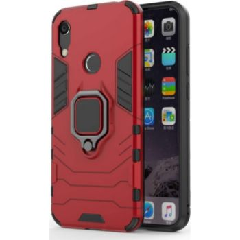 Lapinette Anti Chocs Huawei Y6s Modèle Iron Rouge