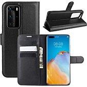 Etui Lapinette Portfeuille Huawei P40 Pro Noir