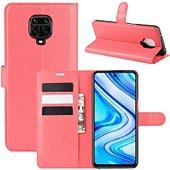 Etui Lapinette Portfeuille Xiaomi Redmi Note 9S Rouge