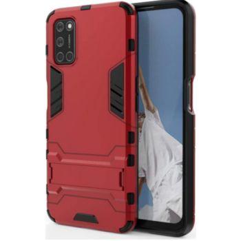 Lapinette Anti Chocs Oppo A72 Modèle Iron Rouge