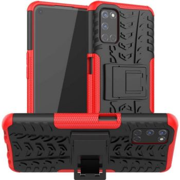Lapinette Anti Chocs Oppo A72 Modèle Spider Rouge