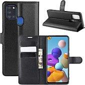 Etui Lapinette Portfeuille Samsung Galaxy A21s Noir