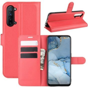 Lapinette Portfeuille Oppo Find X2 Lite Rouge