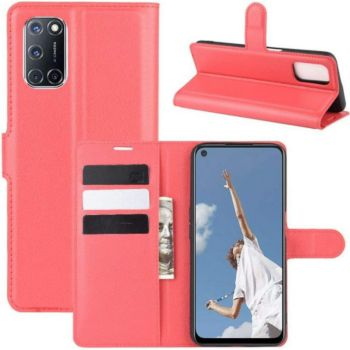 Lapinette Portfeuille Oppo A72 Rouge
