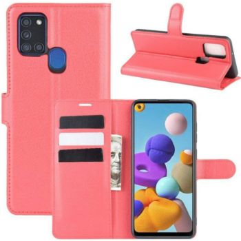 Lapinette Portfeuille Samsung Galaxy A21s Rouge