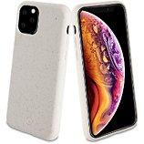 Coque Muvit  iPhone 11 Pro Max Bambootek blanc