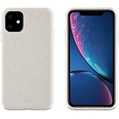 Coque Muvit iPhone 11 Bambootek blanc