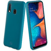 Coque Muvit Samsung A20e Bambootek bleu