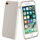 Coque Muvit iPhone 6/7/8 Bambootek blanc