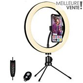"Ring light Muvit 10"" pour Smartphone / Vlog"
