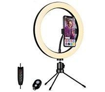"Ring light Muvit  10"" pour Smartphone / Vlog"